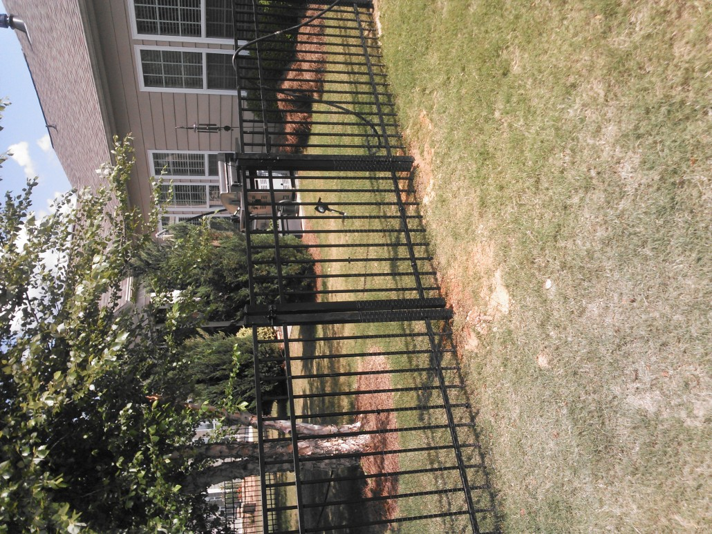 Residential Fences Ornamental Iron Mcintyre Fencing