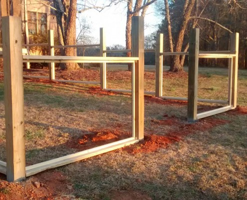 Projects In Progress Mcintyre Fencing