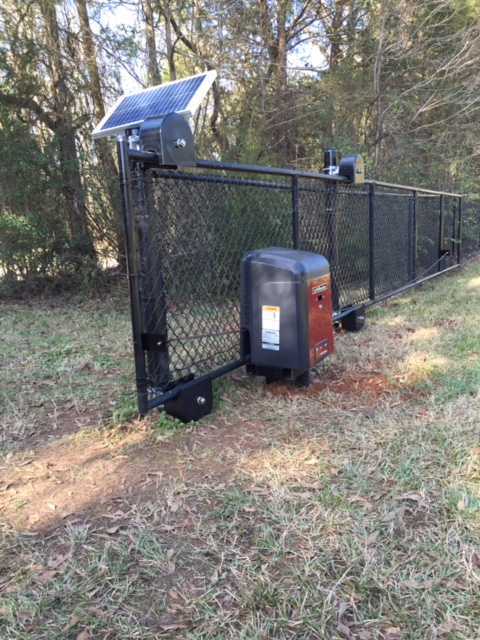 Residential Fences Automated Entry Gate Mcintyre Fencing