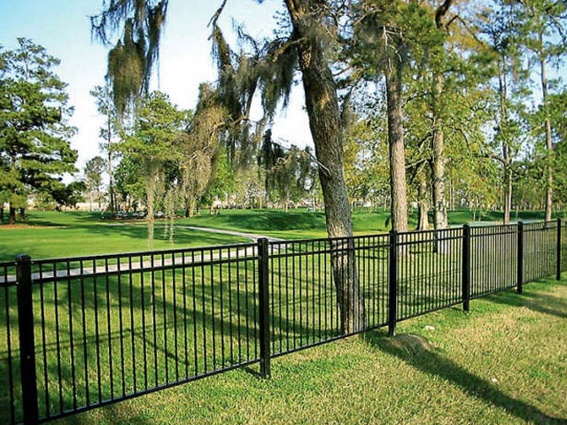 Residential Fences Ornamental Iron Mcintyre Fencing