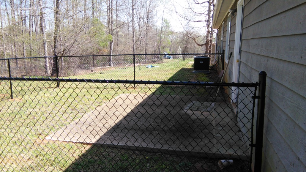 Residential Fences Chain Link Mcintyre Fencing